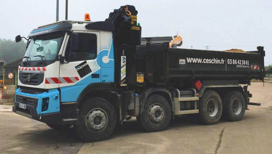 Décoration adhésive camion Ceschin